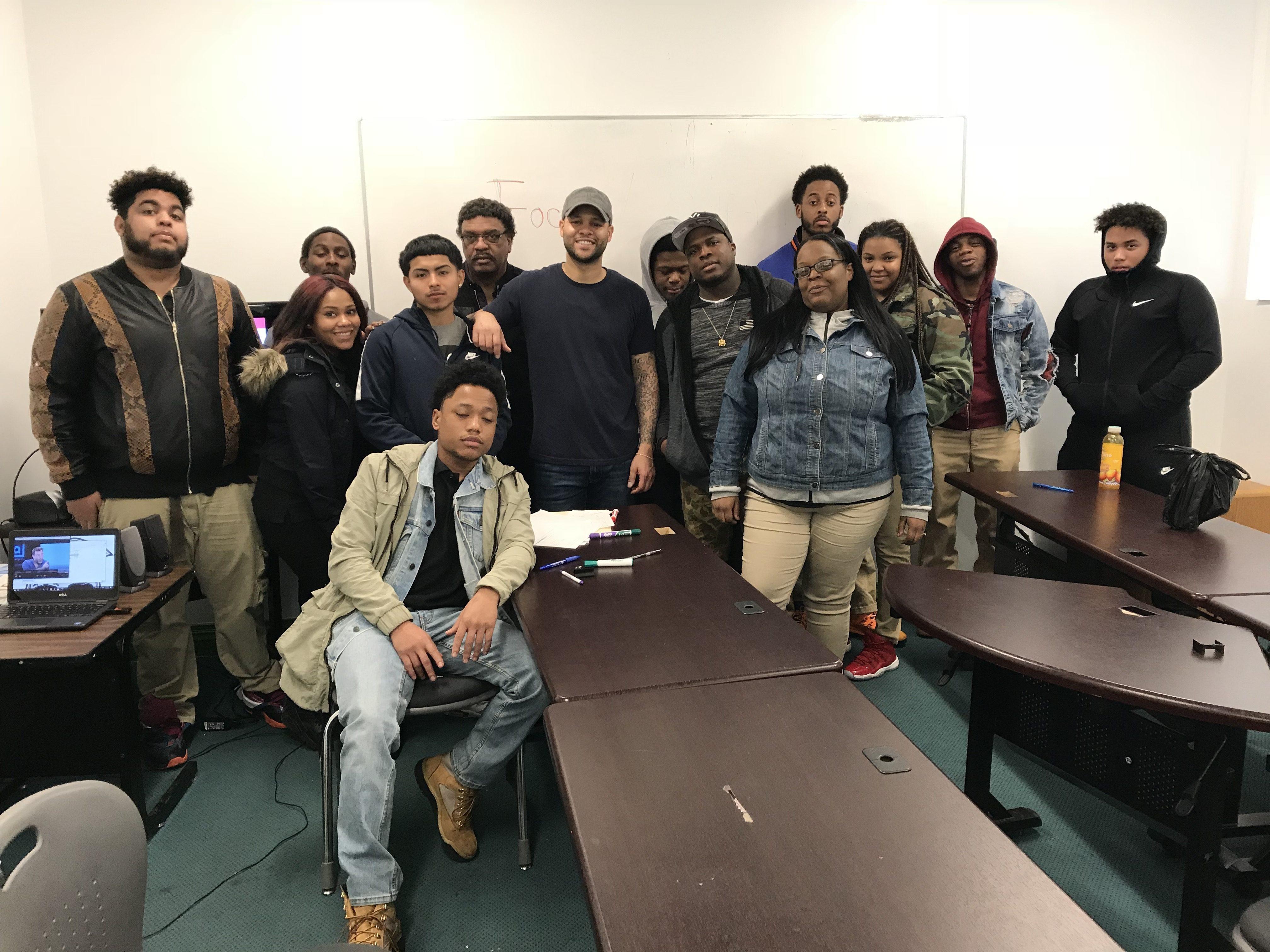 LICCV Workshop At United Way (Youth Build) Long Island